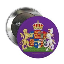 "Anne Boleyn Coat of Arms 2.25"" Button"