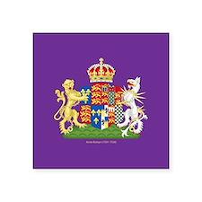 "Anne Boleyn Coat of Arms Square Sticker 3"" x 3"""