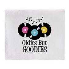 Oldies But Goodies Throw Blanket