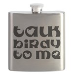 Talk Birdy To Me Flask