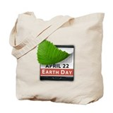 April 22 Earth Day Tote Bag