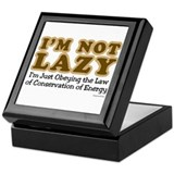Not Lazy Keepsake Box
