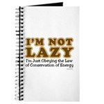 Not Lazy Journal