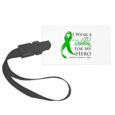 Cerebral Palsy Hero Large Luggage Tag