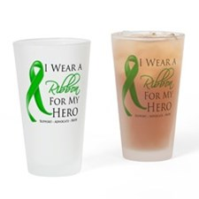 Cerebral Palsy Hero Drinking Glass