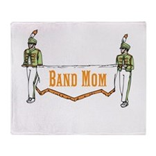 Band Mom Throw Blanket