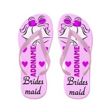 Bridesmaid Bells Flip Flops