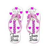 Team bride Flip Flops