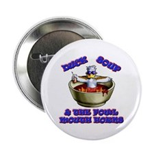 "Unique Duck soup 2.25"" Button (10 pack)"