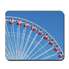 Navy Pier Ferris Wheel Mousepad