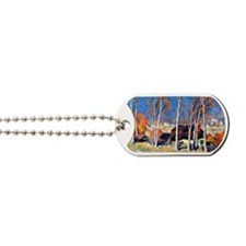 Lonely Village on the Saint Lawrence, Cla Dog Tags
