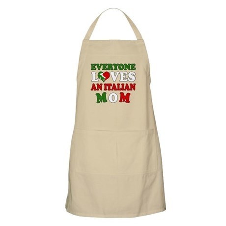 Everyone Loves Ital Mom BBQ Apron