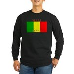 Mali Malian Flag Long Sleeve Dark T-Shirt