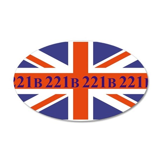 221B union jack Wall Decal