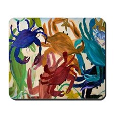 Crab Party Mousepad