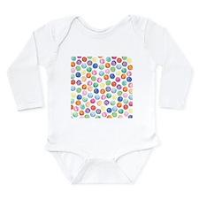 Watercolor Polka Dots Body Suit