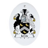 Jervis Oval Ornament