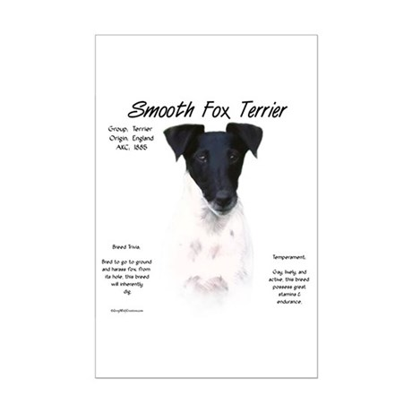 Smooth Fox Terrier Mini Poster Print