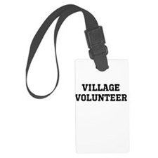 Cute Community service Luggage Tag