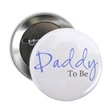 Daddy To Be (Blue Script) Button