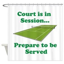 Court is in Session... Shower Curtain