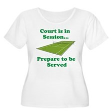 Court is in Session... Plus Size T-Shirt