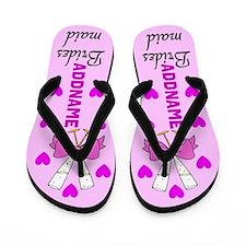 Sweet Bridesmaid Flip Flops