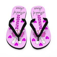 Sweet Maid Of Honor Flip Flops