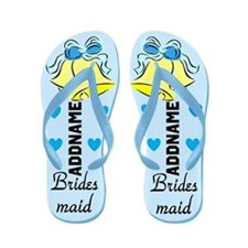 Chic Bridesmaid Flip Flops