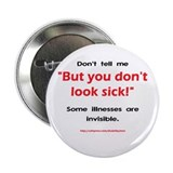 Invisible Illness Button