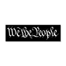 Cute Us constitution Car Magnet 10 x 3