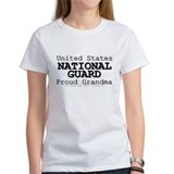 Proud National Guard Grandma Tee