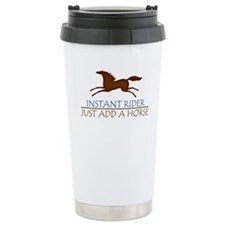 horse instant rider apparel Travel Mug