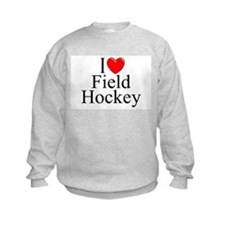"""I Love (Heart) Field Hockey"" Sweatshirt"