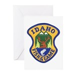Idaho Game Warden Greeting Cards (Pk of 10)