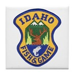 Idaho Game Warden Tile Coaster