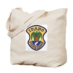 Idaho Game Warden Tote Bag