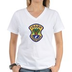Idaho Game Warden Women's V-Neck T-Shirt