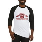 Property of a US Coastie: Coa Baseball Jersey
