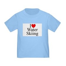 """I Love (Heart) Water Skiing"" T"