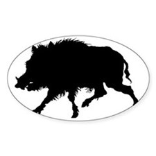Wild Boar Running Wild Decal