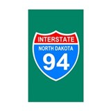 Interstate 94&lt;BR&gt; Sticker 2