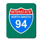 Interstate 94&lt;BR&gt; Mousepad