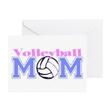 Volleyball Mom Greeting Cards (Pk of 10)