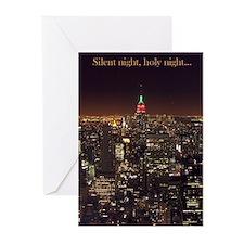 New York City Pk of 10 Christmas Cards (BLANK)