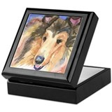 Collie #2 Keepsake Box