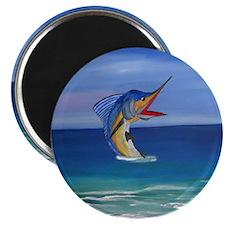 Happy Sailfish Art Magnet