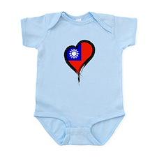 Heart Nation 06 Infant Bodysuit