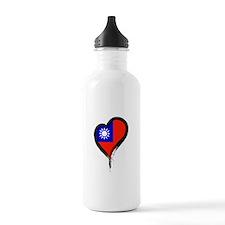 Heart Nation 06 Water Bottle