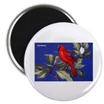 Northern Cardinal Bird Magnet